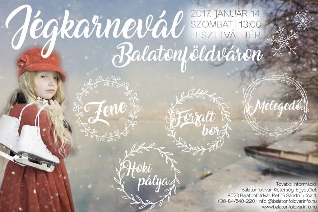Eiskarneval mit Musik, Spaß, Eishockeyspielen in Balatonföldvár