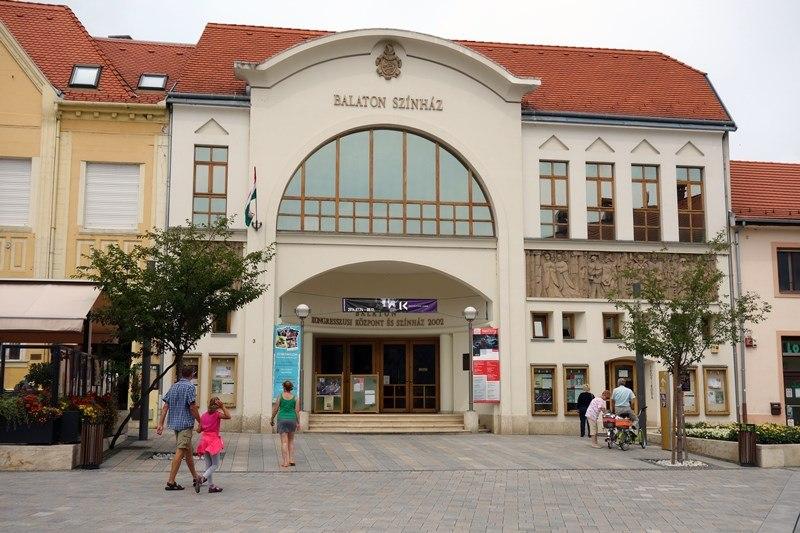 Das Balaton Theater von Keszthely, Foto: Sebastian Starke