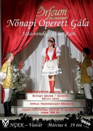 Operettengala zu Ehren der Frauen