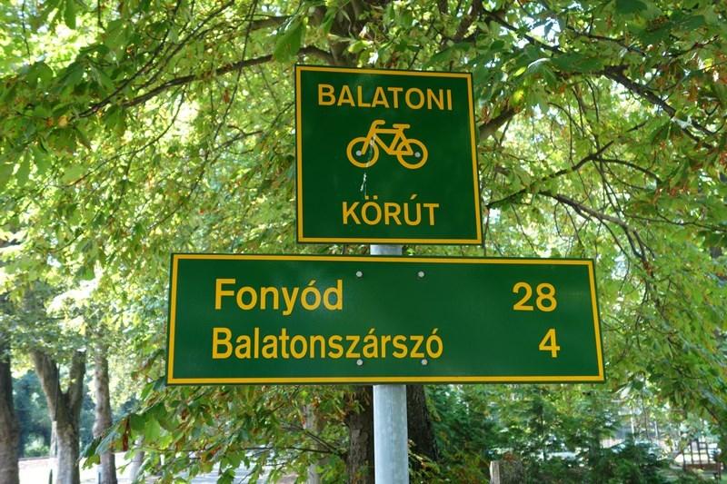 Der Balaton-Radweg, Foto: Sebastian Starke