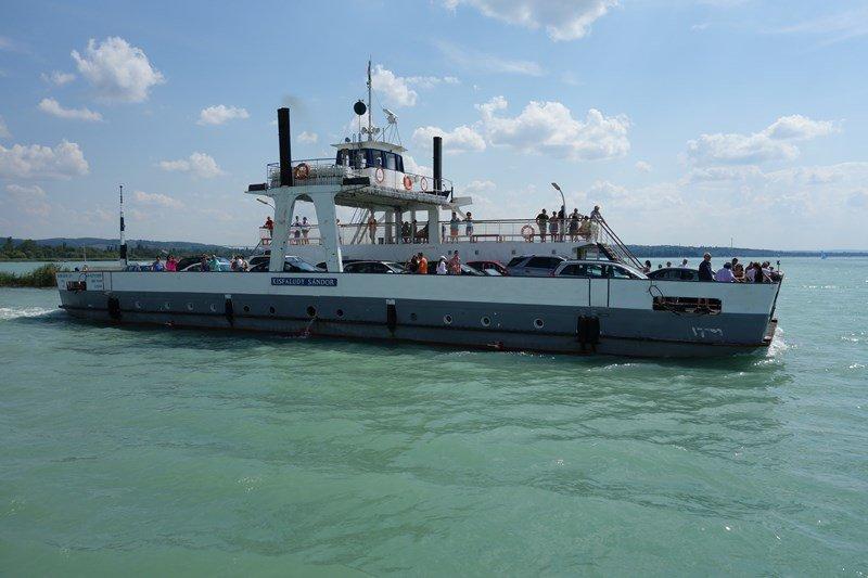 Balaton Schifffahrt