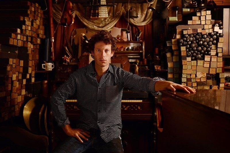 Der britische Folk-Sänger Sam Lee, Foto: Frederic Aranda