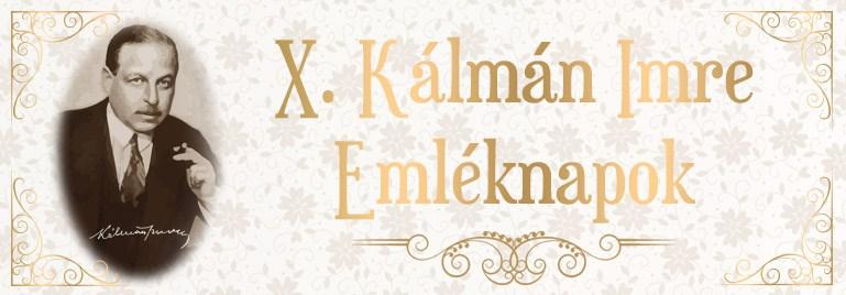 Emmrich Kálmán Gedenktage