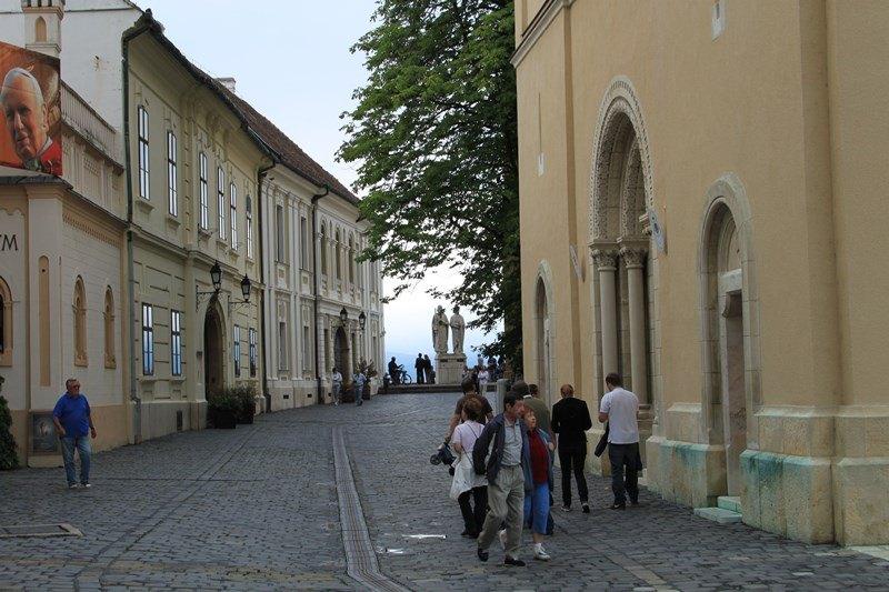 Das Burgviertel in Veszprém, Foto: Sebastian Starke
