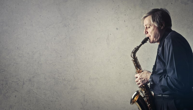 Jazz-Saxophonist