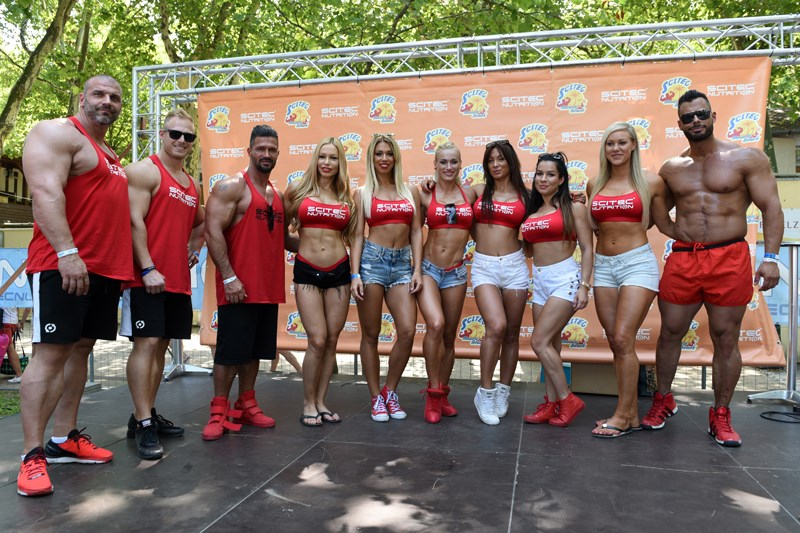 Scitec Summer Gym und Muscle Beach in Siófok