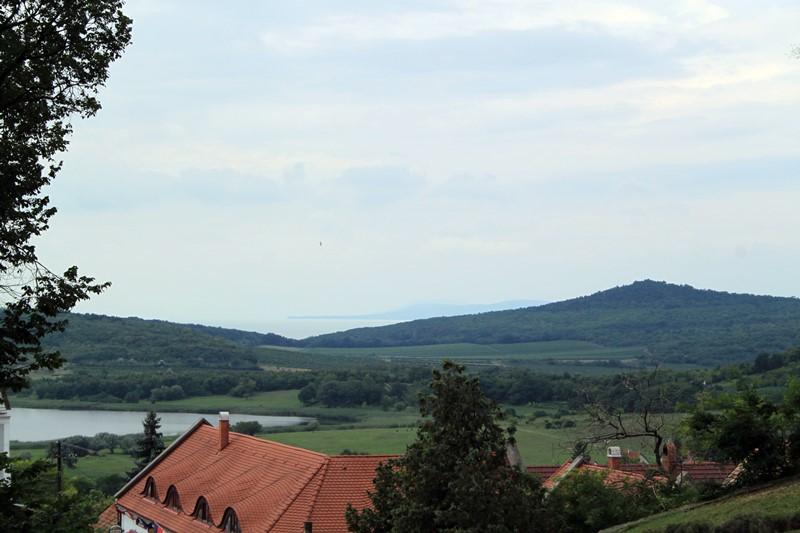 Blick von Tihany aus ins Balaton-Oberland, Foto: Sebastian Starke