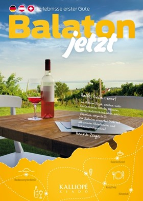 Cover: BALATON JETZT - Erlebnisse erster Güte