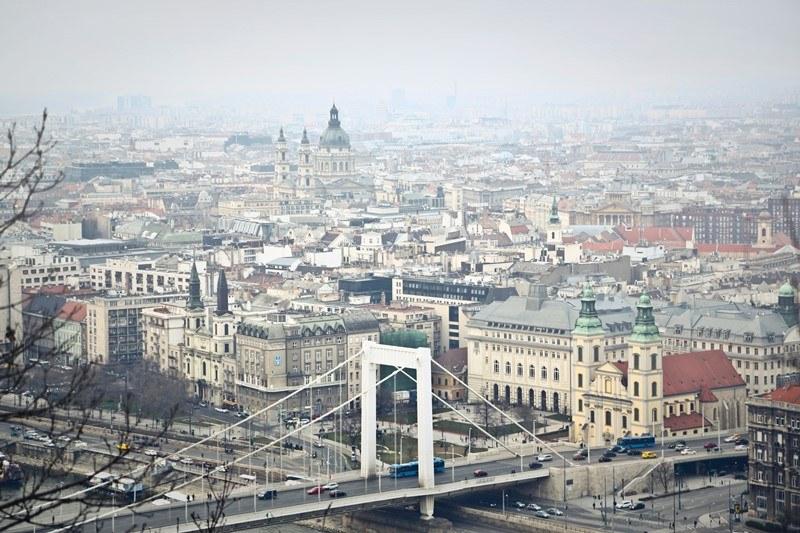 Blick über Budapest