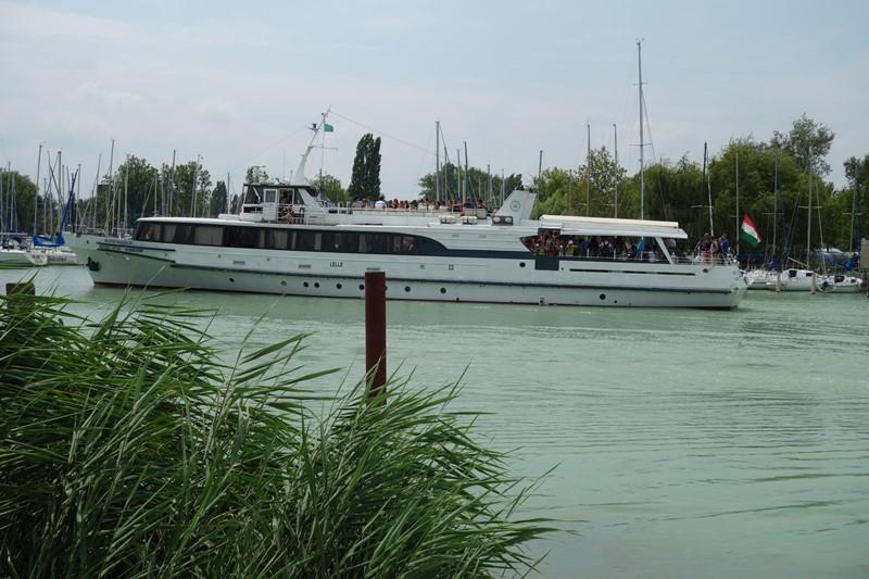 Ausflugsboot auf dem Balaton