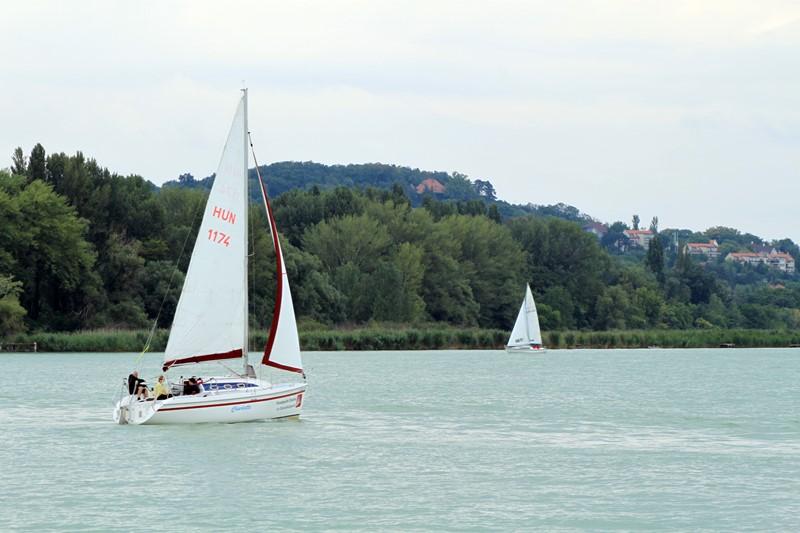 Segeleboot auf dem Balaton